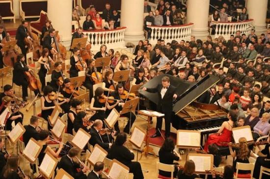 Юбилейный концерт симфонического оркестра Карельской филармонии в Санкт-Петербурге 15 февраля 2014 года