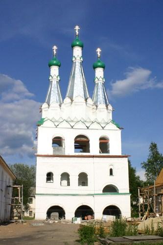 Звонница Александро-Свирского монастыря