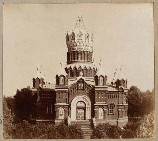 И.И. Горностаев. Собор Иверской Богоматери. Николо-Бабаевский монастырь