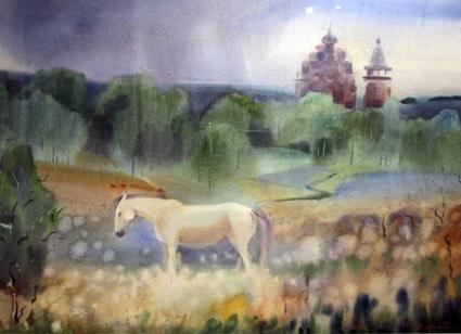 Ю. Коросова. «Сны белой лошади». 2014