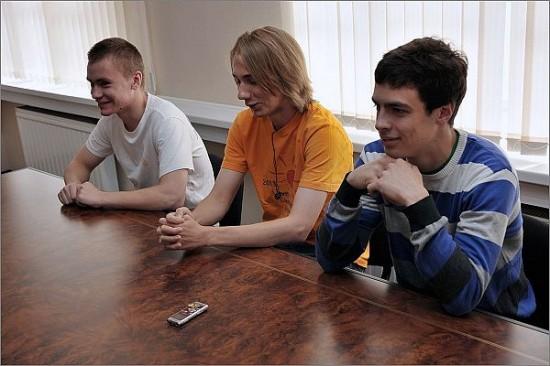Команда студентов-программистов ПетрГУ. Фото с сайта ПетрГУ