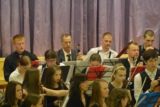 Преподаватели и их ученики в одном оркестре