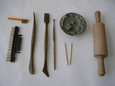 Рис. 14. Инструменты для создания сосуд