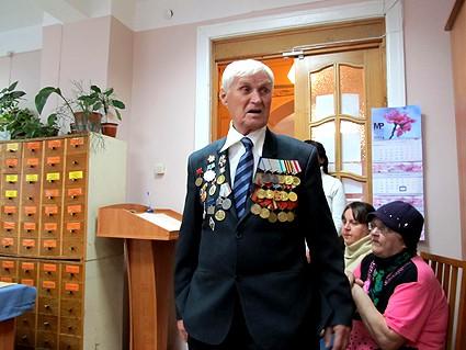 Ветеран Великой Отечественной войны, воевавший на Карельском фронте Григорий Яковлевич Панасейчук