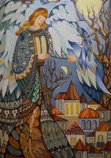 Янина Ивасенко. Ангел, укладывающий город спать