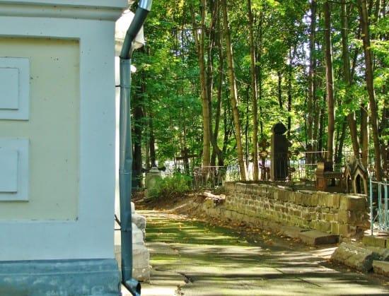 Захоронение Пименовых на Зарецком кладбише Петрозаводска.