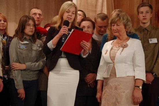 Выпускники 2000 года поздравляют Любовь Владимировну Нифантьеву с 30-летием клуба