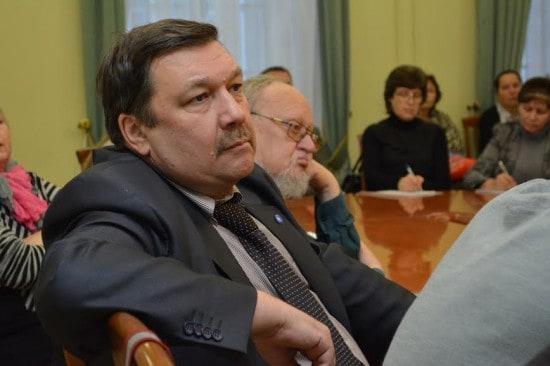 Председатель военно-исторического общества РК, директор института истории ПетрГУ Сергей Веригин