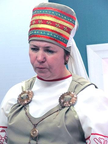 Lиректор Шелтозерского музея Наталья Анхимова – вепсянка, уроженка этого старинного села