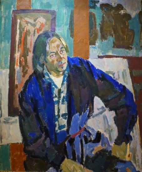 В. Каратаюс. Портрет художника Юозаса Кедайниса