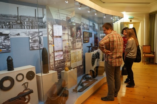 Посетить постоянную экспозицию музея можно было бесплатно