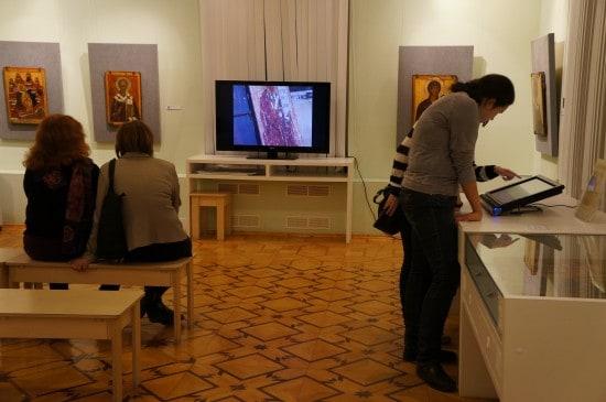 Экспозиция иконописи
