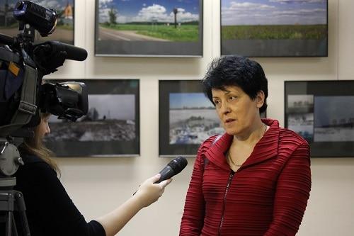 Антонина Нагорная, вдова Исаака Шварца