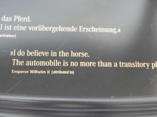 Слова Вильгельма II: «И все-таки я верю в лошадь. Автомобиль – это не более чем временное транспортное явление». Кайзер ошибался не только в решении политических задач..