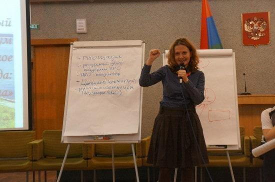 "Педагог-организатор центра ""Подросток"" Ирина Жукова"