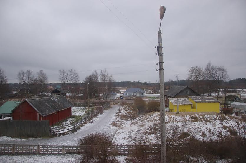 Вид из школьного окна