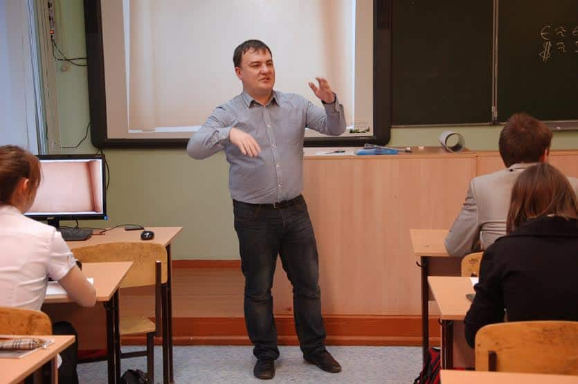 На уроке Максима Иванова старшеклассники обсудили колебание валютного курса и безработицу