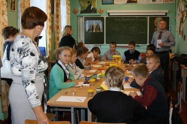 Участники проекта в Шуйской школе