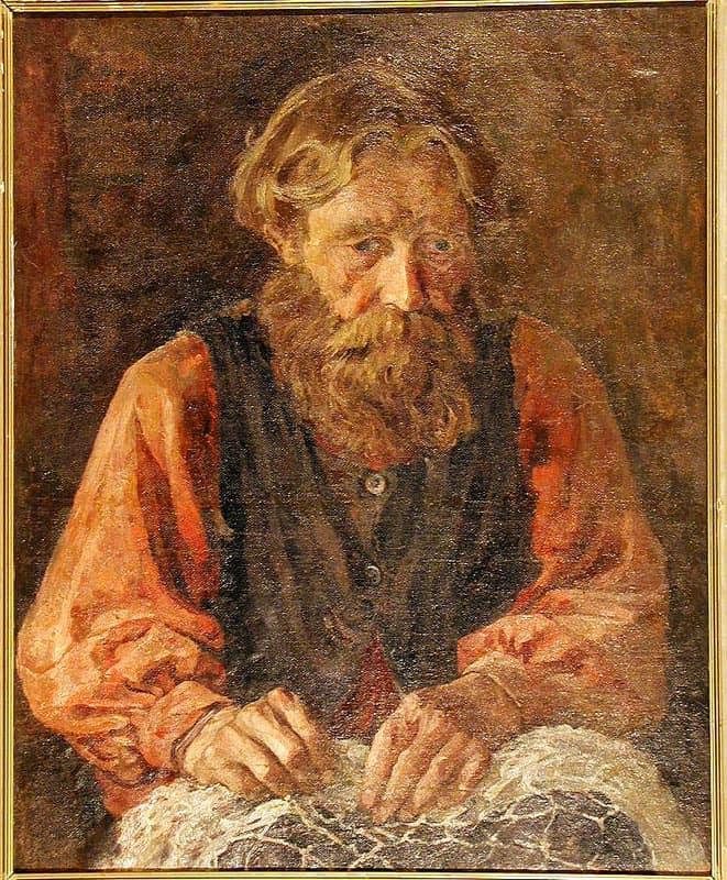 Александр Андриянов. Портрет отца
