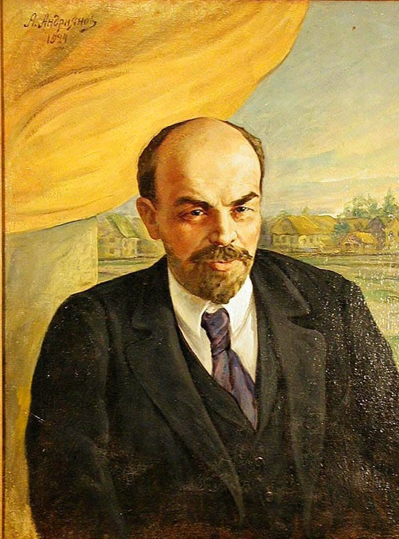 Александр Андриянов. В.И. Ленин. 1924-е