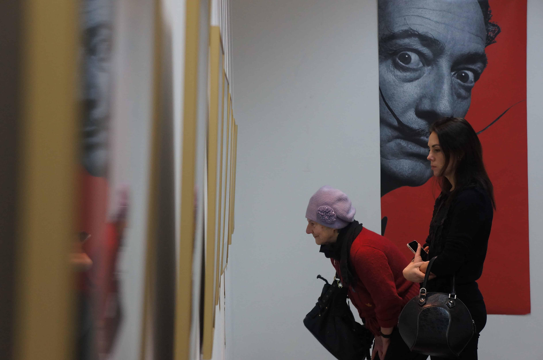 В Петрозаводске открылась выставка графики Сальвадора Дали