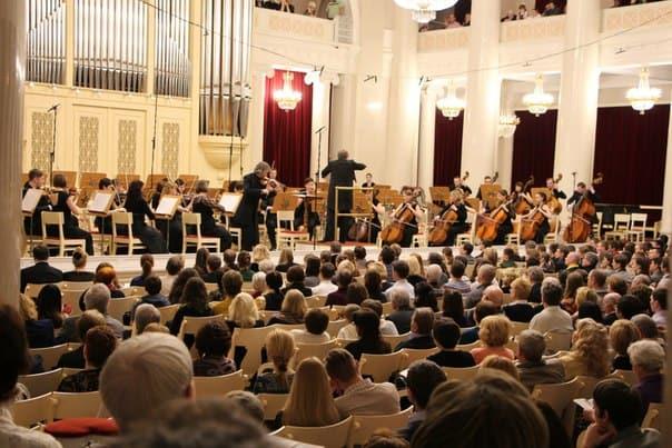 Александр Тростянский и симфонический оркестр Карельской филармонии