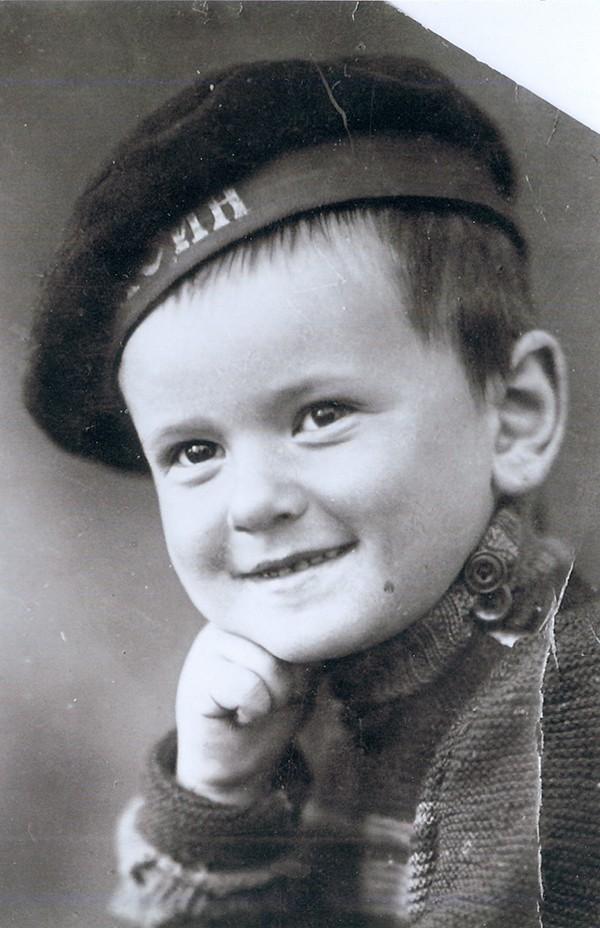 Эрик Тулин в детстве