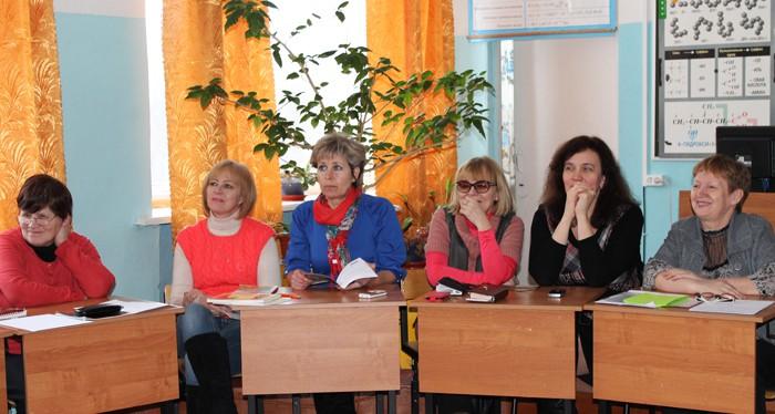 Семинар в Пушнинской школе