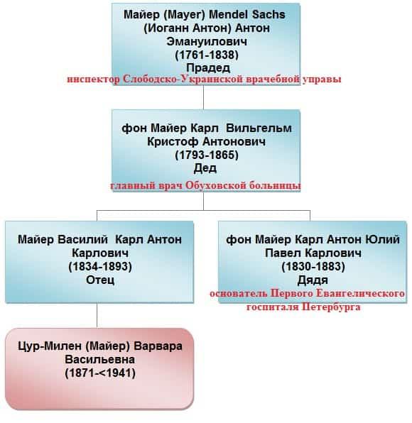 Предки врачи Майеры