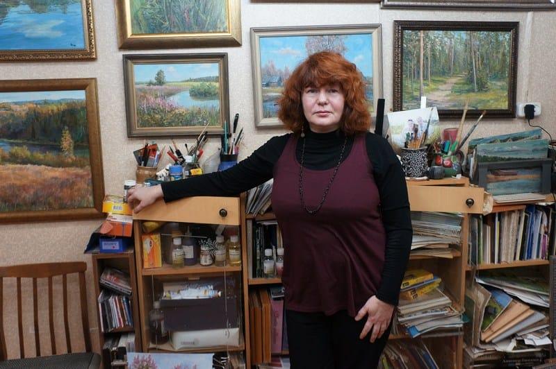 Олонецкий художник Наталья Чанжина