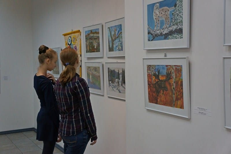 В Городском выставочном зале Петрозаводска открылась  выставка «Дорогой творчества»