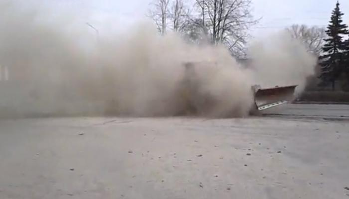 Пыль в Петрозаводске. Фото ptzgovorit.ru