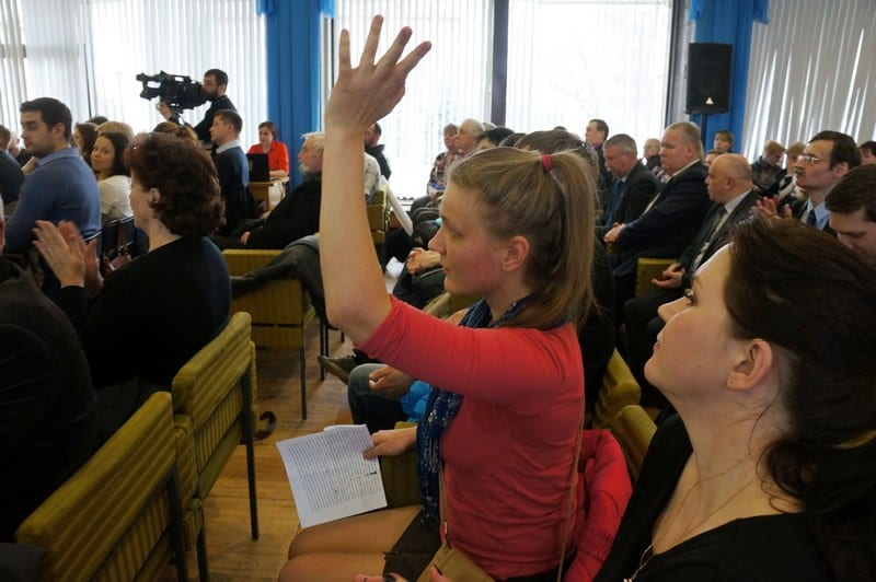 В администрации Петрозаводска состоялись общественные слушания