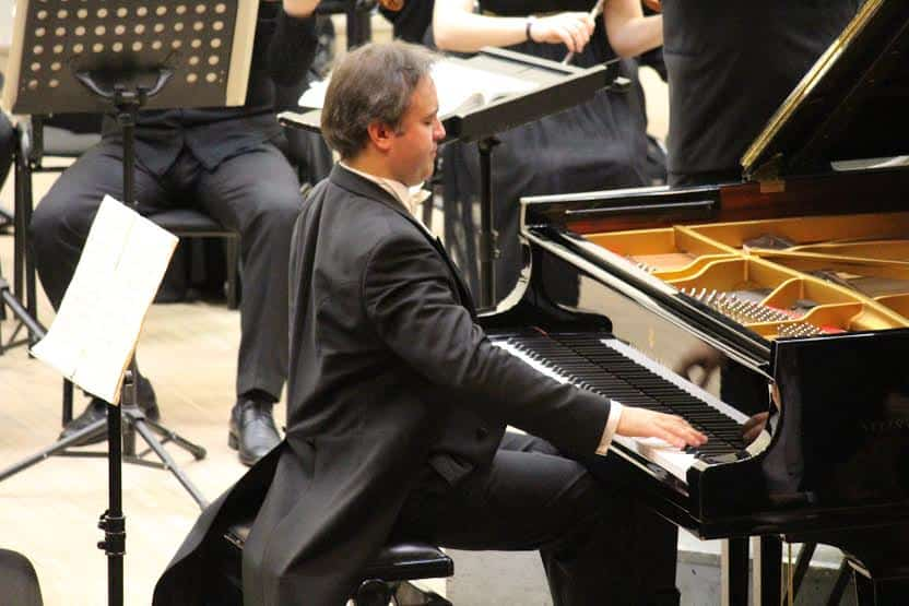 Алексей Володин в Карельской филармонии