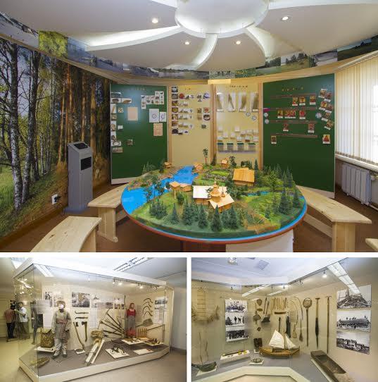 Игровой зал и зал народных промыслов Национального музея РК