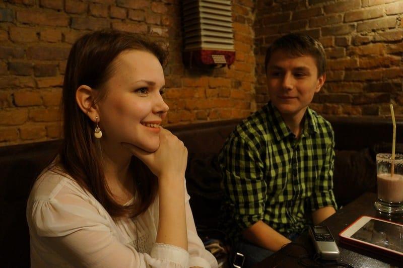 Аня Туркина и Артем Матвеев