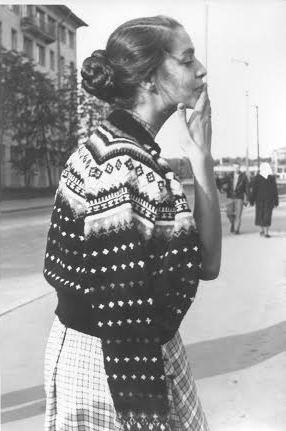 Елена Бычкова. Ленинград, 1960 год