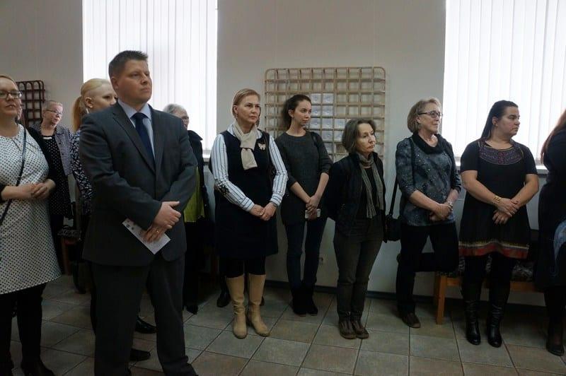 Финские художники. На переднем плане консул Финляндии в Петрозаводске Туомас Киннунен