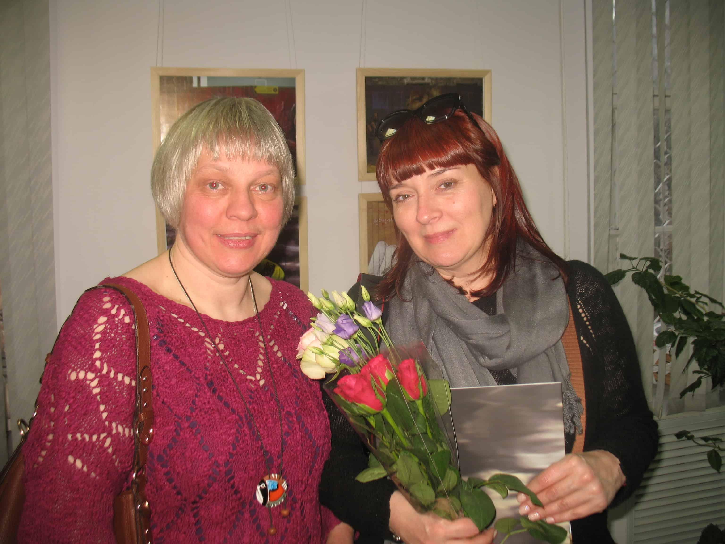 Татьяна Московкина (слева) и Инна Казакова