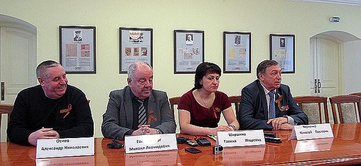 Пресс-конференция в Национальном музее Карелии