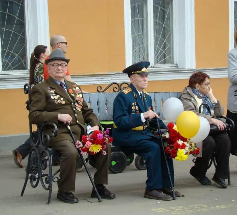 Ветераны. Фото Юлии Свинцовой