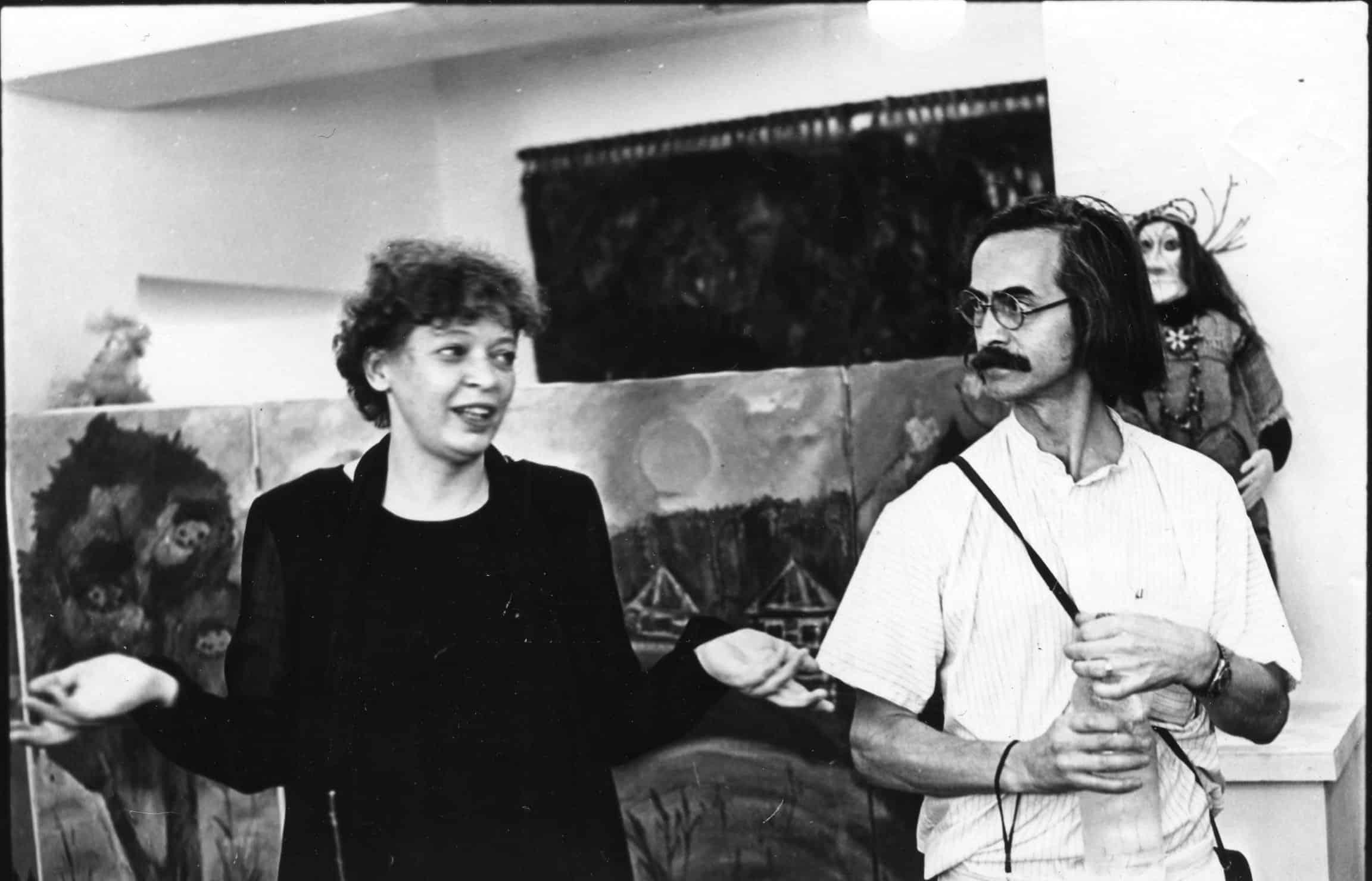 Т. Калинина и Д. Москин. 1999 год