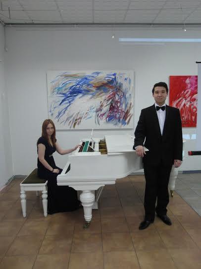 Чингиз Кадыров (тенор) и Юлия Бунтова (фортепиано)