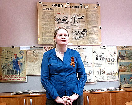 Куратор выставки  Елена Намятова