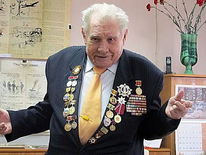 моряк Онежской флотилии Владимир Ефимович Минарев
