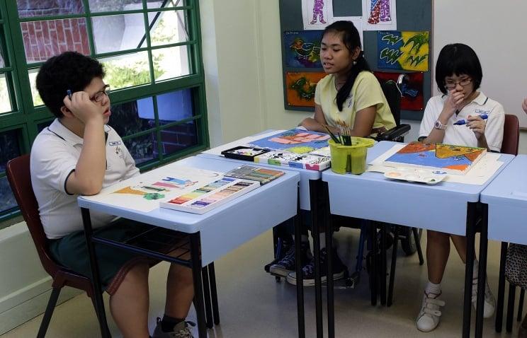 Сингапур. В средней школе. Фото tass.ru