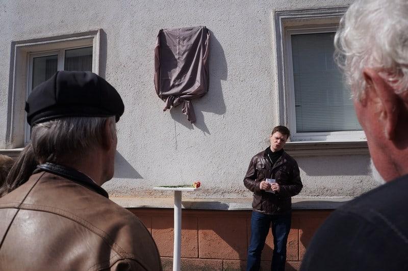 Председатель Союза журналистов Карелии Евгений Белянчиков открывал церемонию