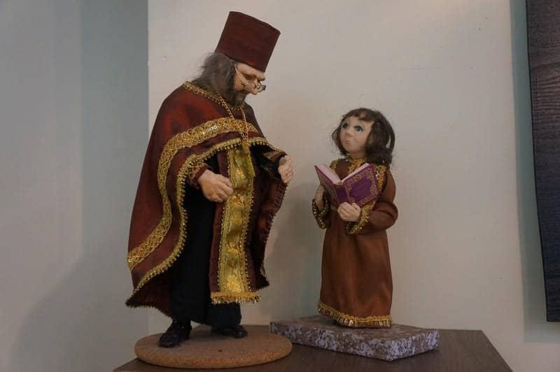 Вернисаж выставки Зинаиды Колесниковой