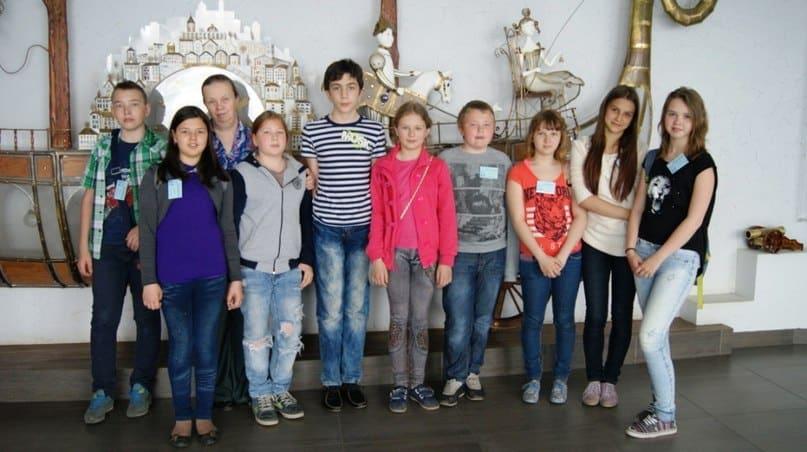 Участники фестиваля в Театре кукол Карелии