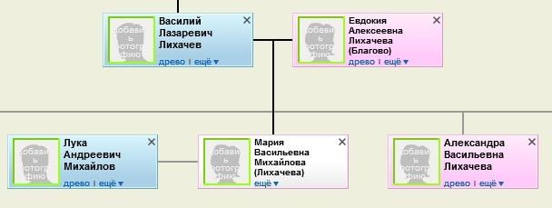 Лихачёвы Михайловы